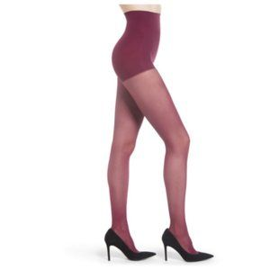 Dkny Comfort Luxe Control Top Tights Wine